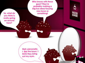 Comic Strip Campaign for Truffle Tease
