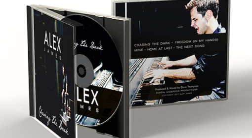 Alex James – CD Cover Design