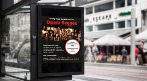 Opera Scenes Concert Poster