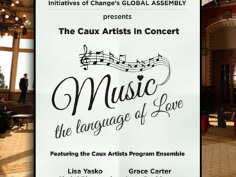 Caux Artist Poster