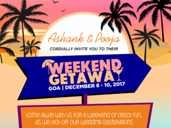 Destination Weekender Save the Date and Stationery
